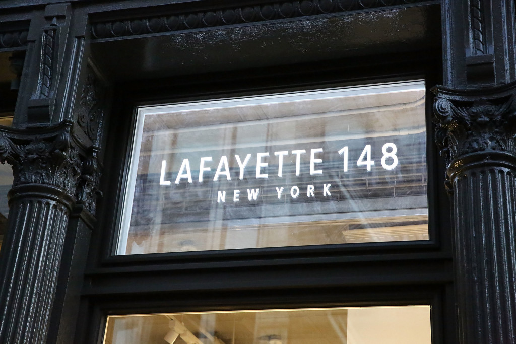 NEW YORK, NY - SEPTEMBER 13: General atmosphere of the Lafayette 148 store during the New York Fashion Week Event with Noelle Dubina and Natalie Zfat at Lafayette 148 on September 13, 2016 in New York City. (Photo by Astrid Stawiarz/Getty Images for Lafayette 148)